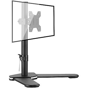 Bracwiser Single Fully Adjustable Monitor Arm Stand Mount for Monitor Computer Screen 13 15 17 19