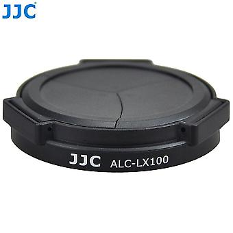 Jjc alc-lx100 auto lens cap for panasonic lumix dmc-lx100 camera - black
