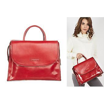 Rosso red handbag