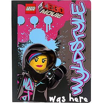 LEGO Movie Wyldstyle estuvo aquí Notebook
