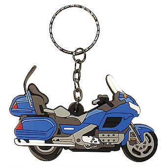 Bike It Honda GL1800 Goldwing Blue Rubber Keyfob - #71
