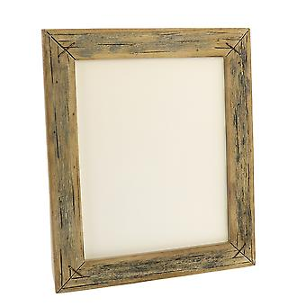 8 X 10 Vertical Frame With Textured Details, Brown