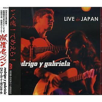 Rodrigo Y Gabriela - Live in Japan [CD] USA import