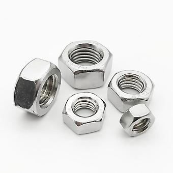 A2 304 Stainless Steel Hexagon Nut For Screw Bolt