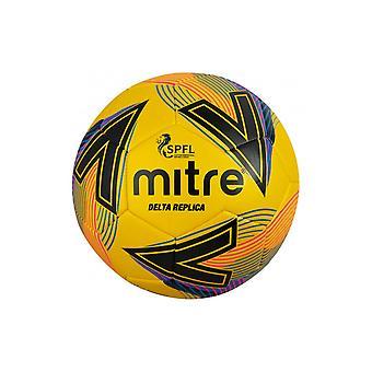 Mitre Delta SPFL 2020/21 Replica Football Soccer Ball Yellow - Mini