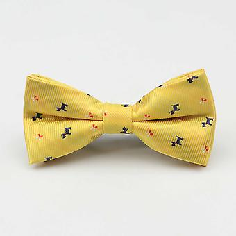 Children Man Fashion Polyester Bow Tie Kid Classical Bowties Umbrella Car Fish