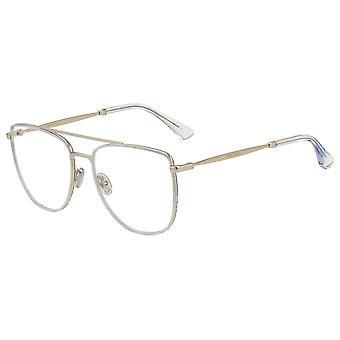 Jimmy Choo JC250 MXV Silver Glitter-Gold Glasses
