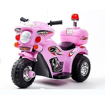 Copii motocicleta masina electrica, tricicleta carucior pentru copii de poliție jucărie