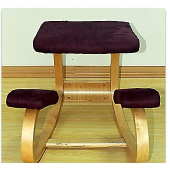 Ergonomic Kneeling Chair Stool Office Rocking Wooden Kneeling Computer Posture