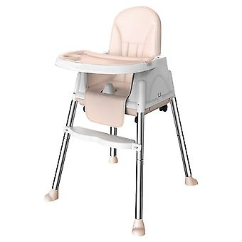 Portable Seat Baby Dinner Table, Dining Chair, Height Adjustable, With Feeding