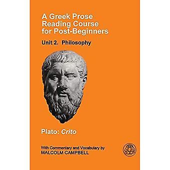 A Greek Prose Course: Philosophy Unit 2