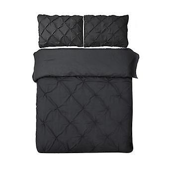 Giselle Bedding Quilt Cover Set Noir
