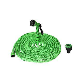 Haveslange elastisk op til 60M - grøn - med sprøjte