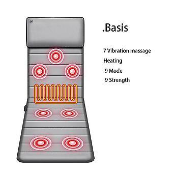 Cervical massager neck waist back multifunctional massage cushion body massage chair blanket mattress cushion heating pad