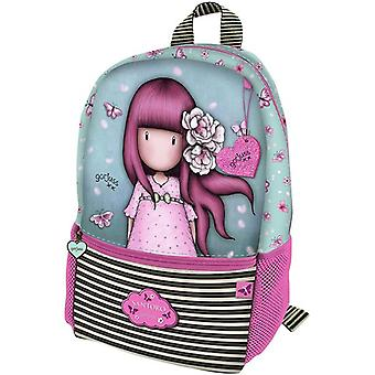 Barn taske Gorjuss Cherry Blossom turkis