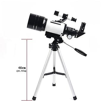 150X astronomisches Refraktor-Teleskop mit fmc-Optik, Barlow-Objektiv-Okular, Mondfilter, Telefonadapter und Stativ