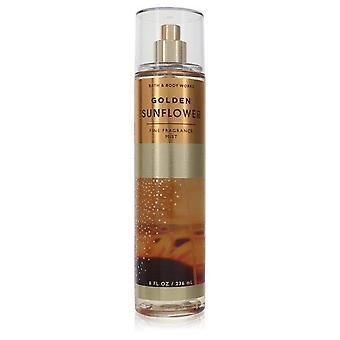 Golden sunflower fragrance mist by bath & body works 556537 240 ml