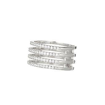 Ring '4 Rader Joyce' Silver 925