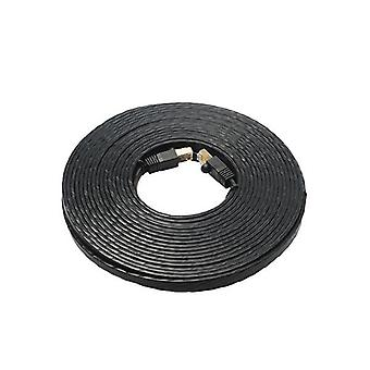 Edimax 15M Black 40Gbe Shielded Cat8 Network Cable