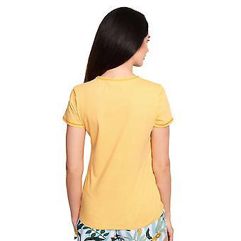 Rösch Vær lykkelig! 1212031-16577 Kvinner's Mini Dots Bomull Pyjamas Topp
