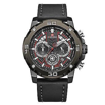 Brand Luxury Luminous Quartz Men's Watch(Black)