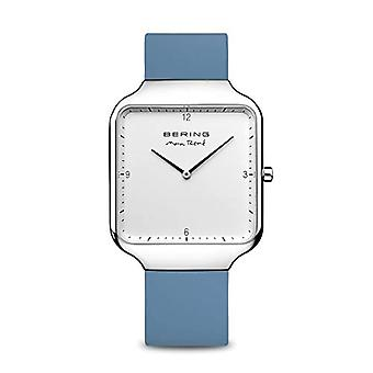 BERING Analogueic Watch Quartz Man with Silicone Strap 15836-700