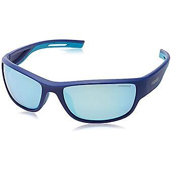 Polaroid SPORT PLD 7028/S Sunglasses, Blue, 60 Unisex-Adult