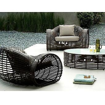 Patio Furniture Creative Wheel Design Chair Rattan Sofa Sets