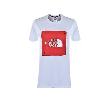 North Face Box Tee Graphic NF0A4SQYFN41 universal ympäri vuoden naisten t-paita