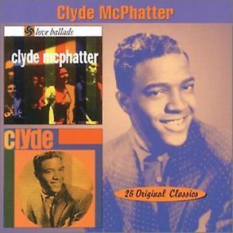 Clyde McPhatter - Love Ballads/Clyde [CD] USA import