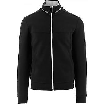 BOSS Black Skaz 1 Contrast Zip-Up Sweatshirt