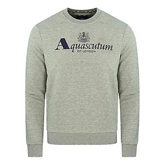 Aquascutum Of London Logo Grey Sweatshirt