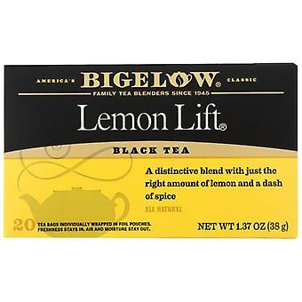 Bigelow Tea Lemon Lift 20Bg, Case of 6 X 1.37 Oz