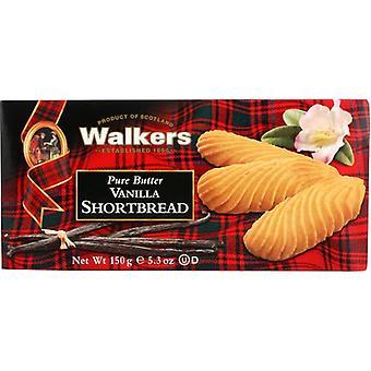 Walkers Shortbread Vanilla, Case of 12 X 5.3 Oz