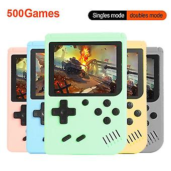 Portable retro video game console 3.0 inch handheld game player built-in 500 classic games mini gamepad for kids gift