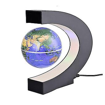 Floating Magnetic Levitation Globe Led World Map Electronic Antigravity Lamp Novelty Ball Light Home