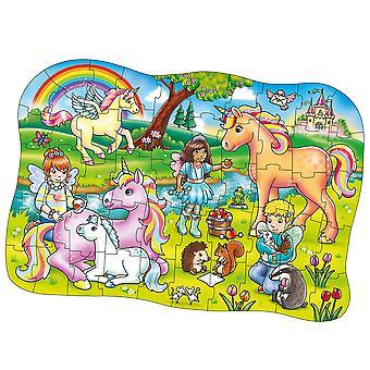 オーチャードおもちゃユニコーンフレンズジグソーパズルチャンキーパズル教育はストーリーボードを学びます