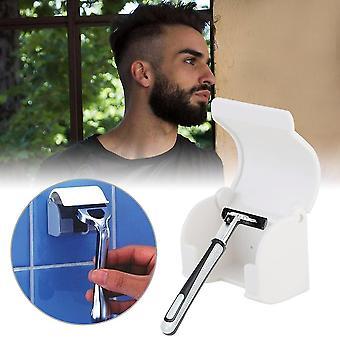 Men: n partakoneen parranajokone imee tahmea kuppiteline ripustimenpidike kylpyhuoneen työkalut