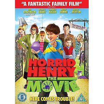 Horrid Henry The Movie DVD