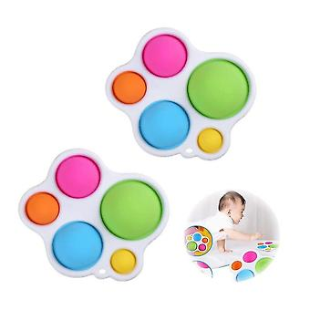 Baby Practice Board Educational Early Education Toy Color Pressing Board