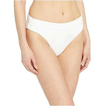 Billabong Women's Sunny Rib Maui Rider Bikini Bottom White Small