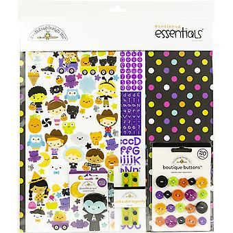 """Doodlebug Essentials Page Kit 12""""X12"""" - Ghost Town"""