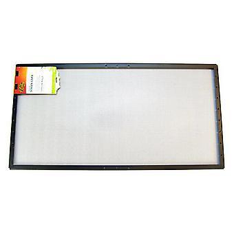 """Zilla الهواء النقي غرامة شبكة غطاء الشاشة - 50 جالون تانك (36 """"طويل × 18"""" واسعة)"""
