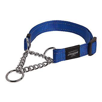 Rogz Utility Fanbelt Obedience Half-Check Dog Collar