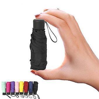 Petit parapluie imperméable à l'eau anti-uv pliant de poche de mini de mode