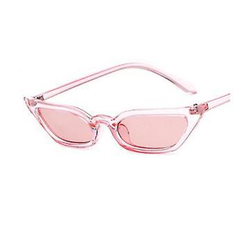 Lunettes de soleil d'oeil de chat de femmes lentilles anti-réfléchissantes