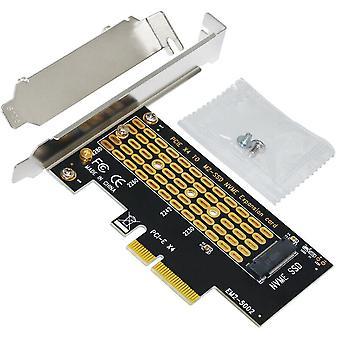 M.2 Ngff M-näppäin työpöydälle Pcie X4 Nvme Ssd Adapter Card 2230/2242