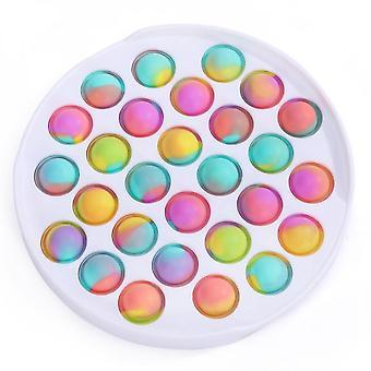 Push Pop Pop Bubble Sensoriel Jouets silicone soulagement du stress Jouet pour la famille, les enfants, les étudiants et les amis