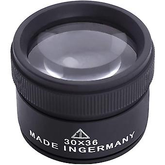 30x Magnifier Optics Loupes Portable Handheld Jewelry Loupe Desktop