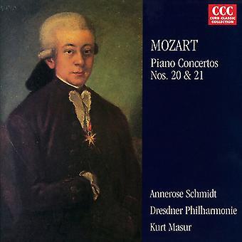 W.a. Mozart - Mozart: Piano Concertos 20 et 21 [CD] USA import